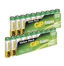 Zvýhodněné balení GP baterií Super  AAA, 20 ks