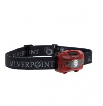 Silverpoint Outdoor Čelovka Hunter XL120 Red