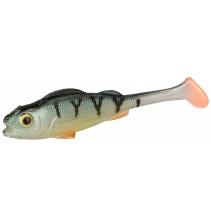 Nástraha - REAL FISH 9.5 cm / PERCH NATURAL - bal. 4 ks