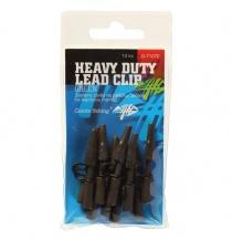 Boční závěs kovový Heavy Duty Lead Clip Green, 10ks