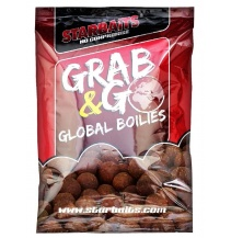 Global boilies BANANA CREAM 20mm 1kg