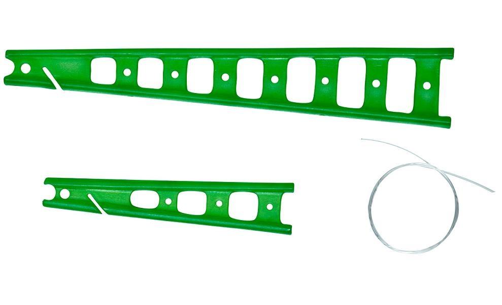 Kostřička na amortizér zelená (2ks)