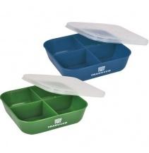 Krabička Trabucco Bait Box 4div.Verde