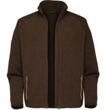 Dozer Fleece bunda (brown / hnědá)