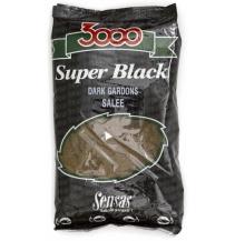 Krmení 3000 Dark Salty Gardons (plotice-černá-slaná) 1kg