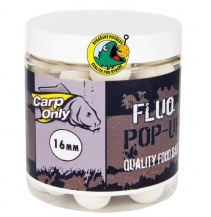 Plovoucí boilies CARP ONLY Fluo White 100g