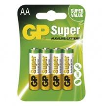 Alkalická baterie GP Super AA 4ks bal / cena za 1ks