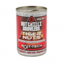 Bait-Tech Tygří ořech v nálevu Hot Growlers Tiger Nuts 400g