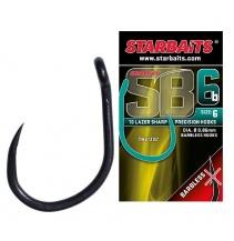Háček STARBAITS SB 6 bez protihrotu (10 ks)
