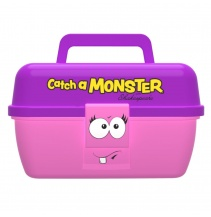Dětský kufřík Shakespeare Catch a Monster Pink Tackle Box
