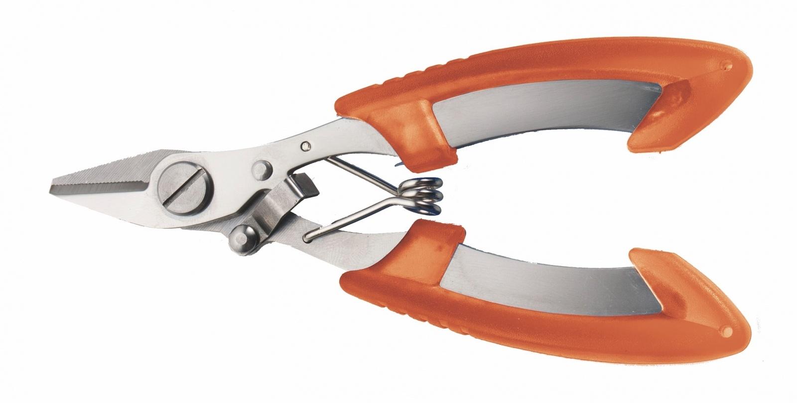 Klešťové nůžky na návazcové materiály