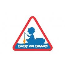 Nálepka BABY ON BOARD