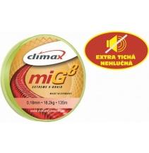 Climax šnůra 135m - miG 8 Braid Olive SB
