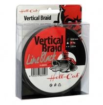 Hell-Cat Splétaná šňůra Braid Line Vertical Black 0.44mm, 41kg, 150m