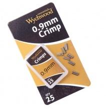 Kovové spojky Wychwood 0.9mm Crimps 25ks