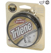 Fluorocarbon Berkley Trilene 100% Čirý 50m