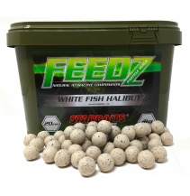 FEEDZ Boilies WHITE FISH PELLETS 14mm 4kg
