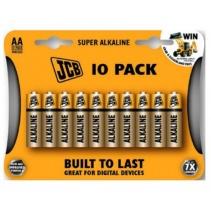 Alkalická baterie JCB LR06 / AA, blistr 10 ks