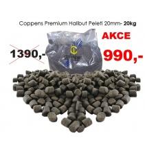 Krmné pelety - BLACK HALIBUT - Coppens 20 kg 20mm
