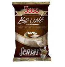 Krmení 3000 Brune Canal (kanál-hnědá) 1kg