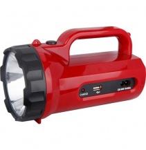 LED svítilna nabíjecí s power bankem, 5W, 235lm, červená