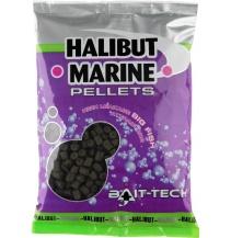Bait-Tech Pelety bez dírek Halibut Marine 6mm, 900g
