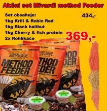 Set Mivardi Method feeder mix