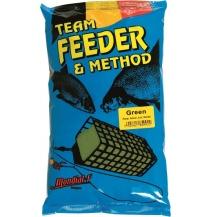 Krmení Method & Feeder GREEN 1kg