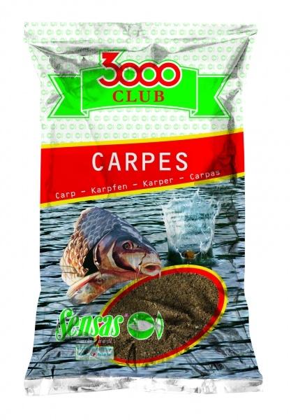 Krmení 3000 Club Carpes Rouge (kapr červený) 1kg