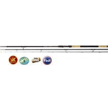 Feeder pruty Black Viper III 4,50m / 250g 3-díl heavy