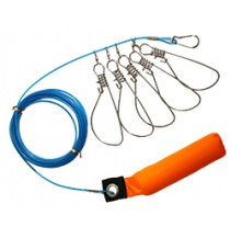 SNAPS TO HOLD FISH 16cm / 5m - set 5 pcs