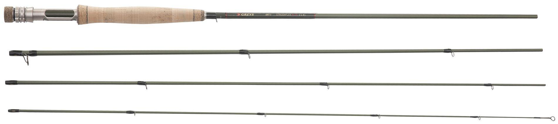 Muškařský prut Greys GR70 Streamflex Plus 2,90m #4