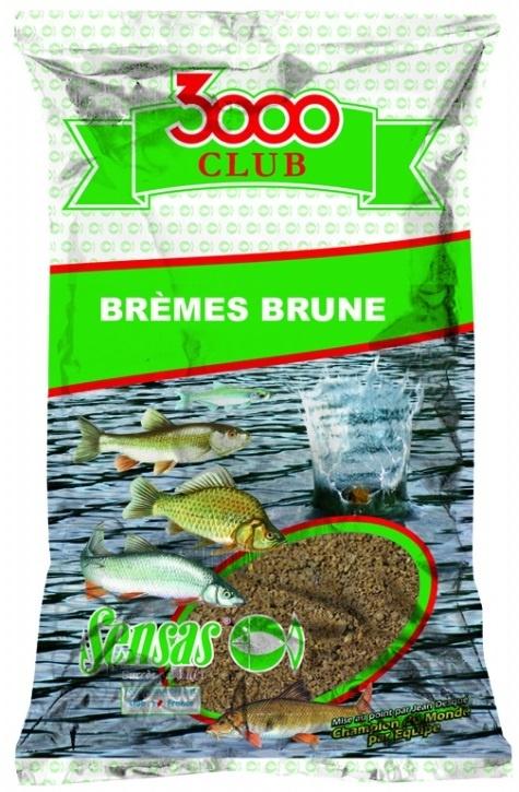 Krmení 3000 Club Bremes Brune (cejn hnědý) 1kg