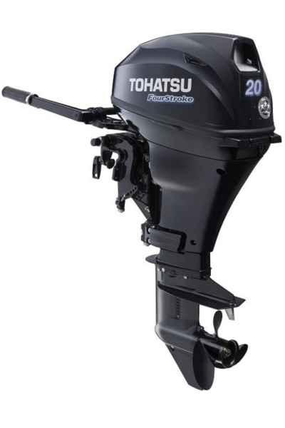 TOHATSU benzínový lodný motor MFS 20D