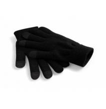 Rukavice TouchScreen Smart černá