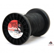 Hell-Cat Splétaná šňůra Round Braid Power Black 0,80mm, 100kg, 1000m