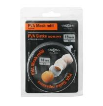 Náhradní PVA SÍŤ (MESH REFILL) 18 mm / 5 m na CÍVCE - Extrémně pomalu rozpustná (EXTREME SLOW DISSOLVING > 2 min)