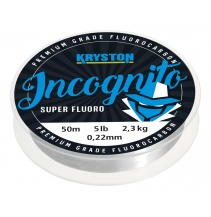 Kryston fluorocarbony - Incognito fluorocarbon 0,40mm 18lb 20m