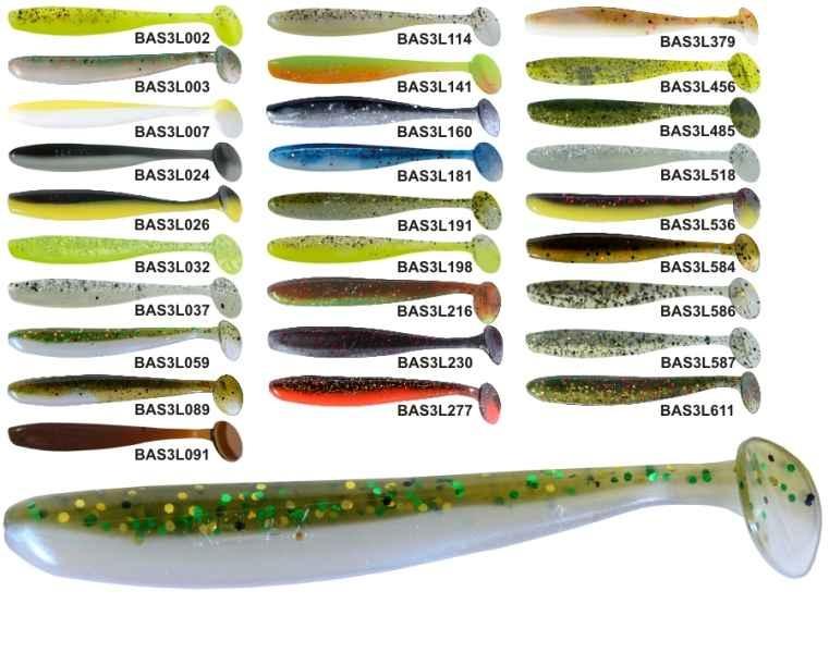 RELAX BASS 3 -7,5cm - nástraha - cena za 1ks - 10ks