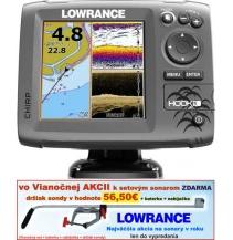 Sonar s GPS - LOWRANCE Hook-5  Chirp so sondou