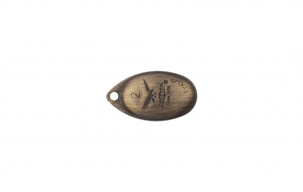 Třpytka - FOCUS vel. 1 - OLD BRASS (stará mosaz)  3g