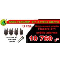 Hlásiče FLACARP - Sada hlásičů F1 s příposlechem 3+1 + světlo
