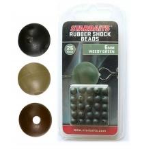 Kuličky gumové - Rubber Shock Beads 6mm