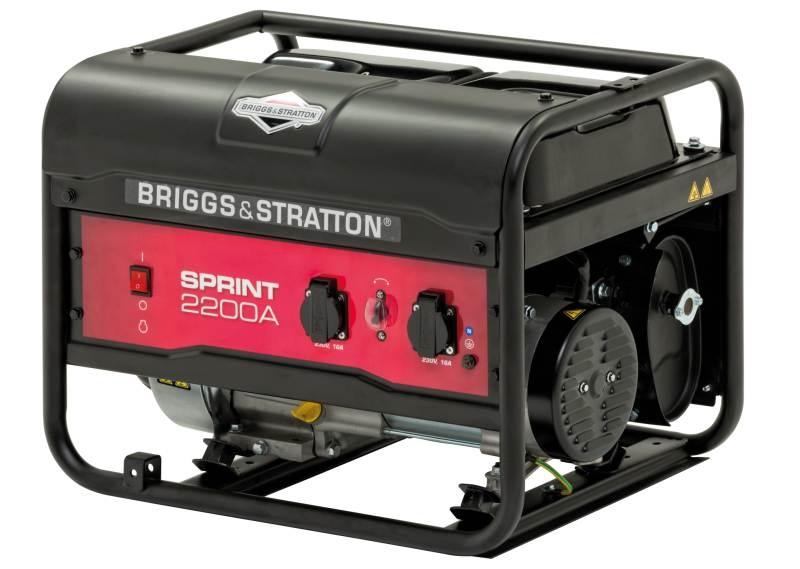 Elektrocentála motorová B&S - Sprint 2 200 A
