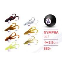 Sada nástrah BOMB Nympha / 350ks