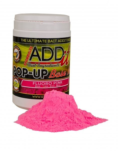Boilies Mix-plovoucí Fluo růžový 250g