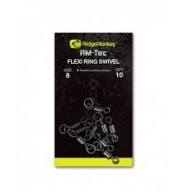 RidgeMonkey obratlíky Flexi Ring Swivel