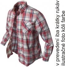 krátká košile Banga (red checkered)