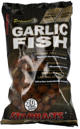 Boilies STARBAITS Garlic Fish 1kg