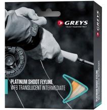 Muškařská šňůra Greys Platinum Shoot WF Float